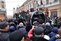 Festival Malanka Fest_63 de la Navidad Imagen de archivo