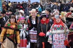 Festival Malanka Fest_35 de la Navidad Imagen de archivo libre de regalías