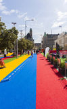 Festival of Malmo, Sweden August 20, 2014 Stock Photo