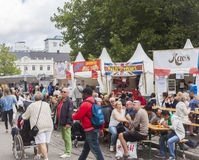 Festival of Malmo, Sweden August 20, 2014 Royalty Free Stock Photos