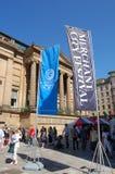 Festival marchand de ville, Glasgow Images stock