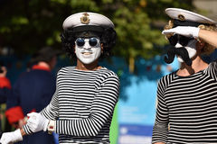 Festival marin international 2015 de St Petersburg Photographie stock