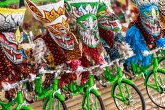 Festival mascherato tailandese Immagini Stock Libere da Diritti