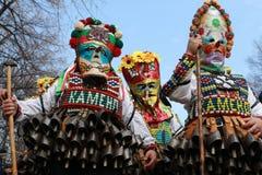 Festival of the Masquerade Games Surva in Pernik, Bulgaria Royalty Free Stock Photo