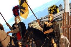 Festival medieval Foto de archivo
