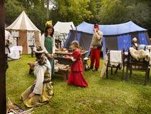 Festival medieval Foto de Stock