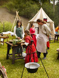 Festival medieval da cultura Imagem de Stock