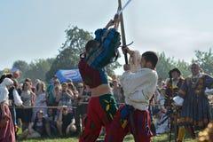 Festival medievale storico Fotografia Stock Libera da Diritti