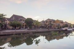Festival medio del año, la esquina de la ciudad vieja de Hoi An Fotografía de archivo