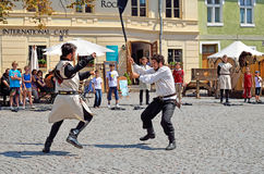 Festival medioevale di Sighisoara Immagine Stock Libera da Diritti