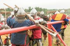Festival militare e storico ricostruzione Immagini Stock