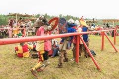Festival militare e storico ricostruzione Immagini Stock Libere da Diritti