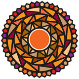 Festival Mood. Round, circles, color, happy, joy, warm Royalty Free Illustration