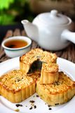 Festival moon cake - china dessert Royalty Free Stock Images