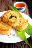 Festival moon cake - china dessert Royalty Free Stock Photos