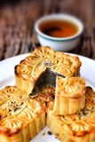Festival moon cake - china dessert Stock Photo