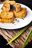 Festival moon cake - china dessert Royalty Free Stock Photography