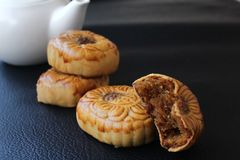 Festival moon cake Royalty Free Stock Photography