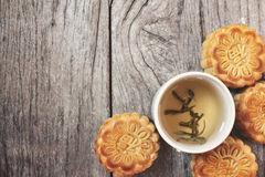 Festival moon cake Royalty Free Stock Image