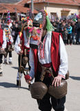 Festival of Mummers in Paisievo, Bulgaria Royalty Free Stock Photo