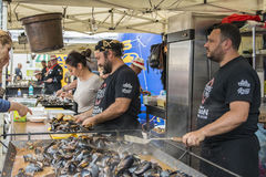 Festival mussels 2017 Royalty Free Stock Photos