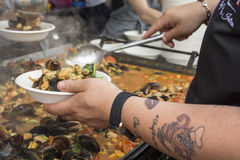 Festival mussels 2017 Stock Photos