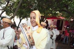 Festival musulmán el 21 de mayo de 2011 en mertola Foto de archivo libre de regalías