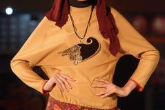 Festival musulman 2014 de mode Images libres de droits