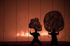 Festival Nang Yai Thailand Lizenzfreies Stockbild