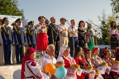 Festival of National Cultures Stock Photography