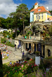 Festival No.6 crowd, Portmeirion, 2014 Royalty Free Stock Image