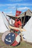 Festival o primeiro capital de Rússia no Ladoga velho Imagem de Stock Royalty Free