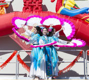 Festival ORLANDO-Floridas 9. Februar 2014 - Dragon Parade Lunar New Year in Orlando Florida Stockfoto