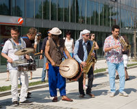 Festival of Ostrava streets Stock Images
