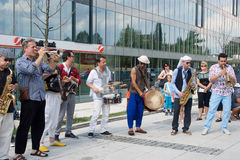 Festival of Ostrava streets Stock Photography