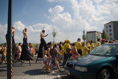 Festival of Ostrava streets Royalty Free Stock Images