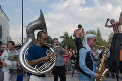 Festival of Ostrava streets Royalty Free Stock Image