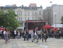 Festival of Ostrava streets 2015 Royalty Free Stock Photo