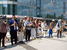 Festival of Ostrava streets 2014 Royalty Free Stock Photography