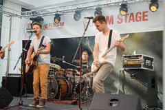 Festival of Ostrava streets 2014 Stock Images