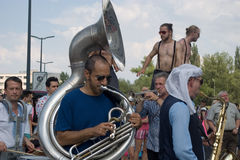 Festival of Ostrava streets 2014 Royalty Free Stock Image