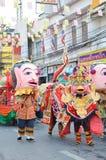 Festival parade in Thailand Royalty Free Stock Photos