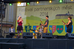 Festival partner cities 2014 Stock Image