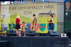 Festival partner cities 2014 Royalty Free Stock Photos