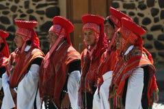 Festival peruano Fotografía de archivo libre de regalías