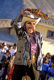 Festival peruano imagem de stock