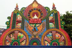 Festival Pettah de Vesak 2018 - Colombo - Sri Lanka Images stock