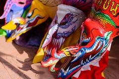 Festival Phi Ta Khon bei Loei Lizenzfreie Stockfotografie