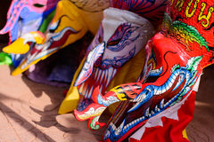 Festival Phi Ta Khon at Loei Royalty Free Stock Photography