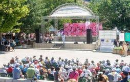 Festival piega in Karlovo bulgaria Immagine Stock Libera da Diritti